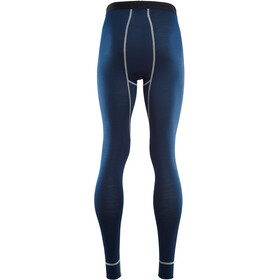 Aclima M's LightWool Reinforced Long Pants Insignia Blue/Blithe/High Risk Red